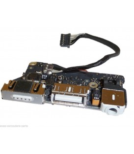 "שקע טעינה למקבוק אייר Apple MacBook Air 13"" A1466 (2013) magsafe charging board P/N: 820-3455-A"