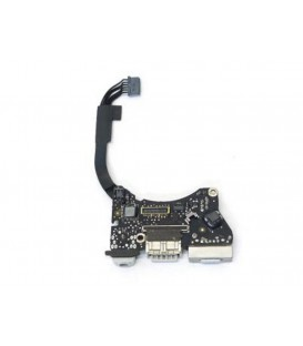 "שקע טעינה למקבוק אייר Apple MacBook Air 11"" A1465 (2012) magsafe charging board P/N: 820-3213-A"