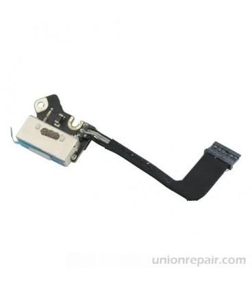 """שקע טעינה למחשב מקבוק רטינה Apple Macbook Pro 13"""" A1502 2013 Retina Magsafe DC Power Jack 820-3584-A"""
