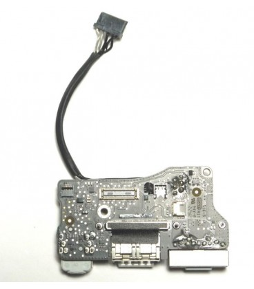 שקע טעינה למקבוק אייר MacBook Air A1466 Power Audio13  Board USB DC Power jack 820-3214-A & Board Cable 821-1477-A 2011-2012