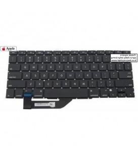 """מקלדת להחלפה במחשב מקבוק רטינה גודל מסך 15 Apple Macbook Pro 15"""" Retina A1398 Mid 2012 / Early 2013 Keyboard"""