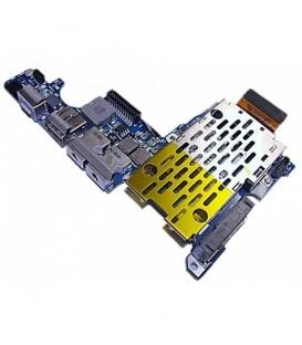 כרטיס שקע טעינה / אודיו לתיקון במחשב מקבוק Apple Macbook Pro A1226 Usb Audio Dc Power Board 820-2102-A