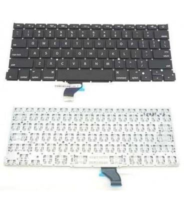 החלפת מקלדת מקורית למחשב נייד אפל מקבוק פרו Macbook Pro A1502 US Keyboard ME864LL/A ME866LL/A