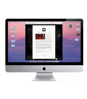 """מחשב איימק למכירה iMac 27"""" I5 3.4Hz / 1TB HD / 8GB RAM / NVIDIA GeForce GT 755M 2GB MEM"""