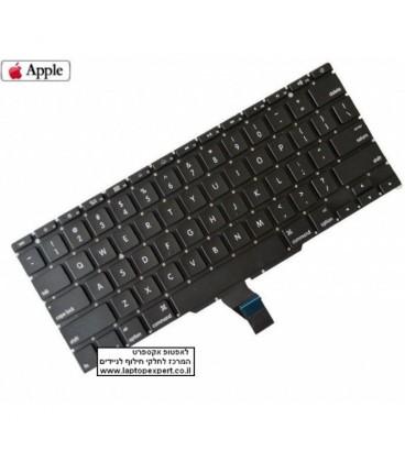 """החלפת מקלדת למחשב נייד אפל מקבוק אייר Apple Macbook Air A1466 A1465 13.3"""" 11"""" US Keyboard - 661-6629"""