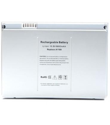 """בטריה סוללה להחלפה במחשב מקבוק גודל מסך 17 Apple MacBook Pro 17"""" A1189 A1212 A1261 Battery"""
