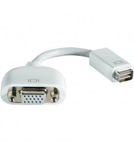 מתאם יציאת כרטיס מסך למחשב מקבוק Apple M9320G/A Mini DVI plug to VGA socket Adapter