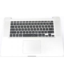 """תושבת קדמית כולל מקלדת למחשב מקבוק פרו Apple MacBook Pro A1286 Touchpad Palmrest Keyboard 15.4"""" 613-8239-05"""
