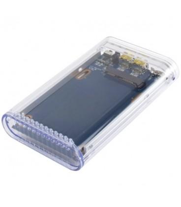 קופסא חיצונית למחשב איימק ומקבוק כולל יציאת פייר וויר USB 3.0 & 2.0 / FireWire 800 (FireWire 400 Backwards Compatible)