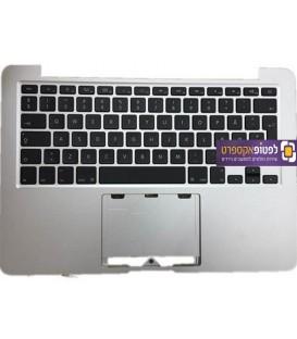 תושבת עליונה למחשב מקבוק פרו כולל מקלדת Apple Macbook Pro Retina A1502 Top Case Palmrest Year 2013-2014