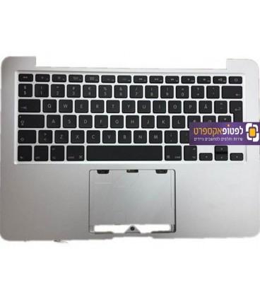 תושבת עליונה למחשב מקבוק פרו כולל מקלדת Apple Macbook Pro Retina A1502 Top Case Palmrest with US Keyboard
