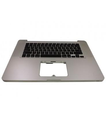 תושבת עליונה כולל מקלדת מחודשת Apple MacBook Pro 15.4 Top Case with Keyboard 661-5244 , A1286