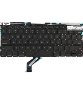 החלפת מקלדת למחשב נייד אפל מקבוק רטינה Apple Macbook Pro Retina 13 A1425 keyboard replacment