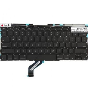 החלפת מקלדת למחשב נייד אפל מקבוק רטינה Apple Macbook Pro Retina 13 keyboard replacment