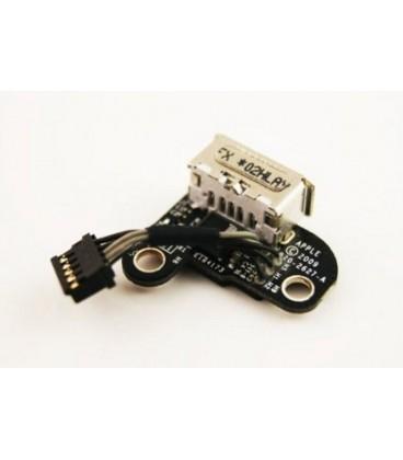 החלפת שקע טעינה מגנטי למחשב נייד אפל מקבוק Apple A1342 Macbook Magsafe DC Jack 820-2627-A