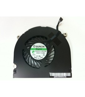 "החלפת מאוורר לאפל מקבוק APPLE MACBOOK PRO 17"" A1297 UNIBODY RIGHT COOLING FAN"