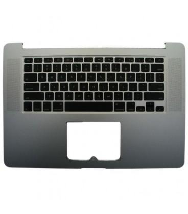 תושבת חיפוי מקלדת עליונה כולל מקלדת למחשב מקבוק Apple Top Case for MacBook Pro Mid 2012 - Early 2013 Retina Display - 661-6532