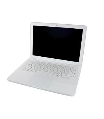 למכירה מקבוק יד שניה Apple MacBook A1342 13.3 C2D 2.4G 250GB 4GB RAM  DVDRW Drive