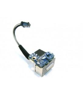 """שקע טעינה מגנטי להחלפה במחשב נייד מקבוק MacBook A1181 13.3"""" Original DC-IN Power Jack"""