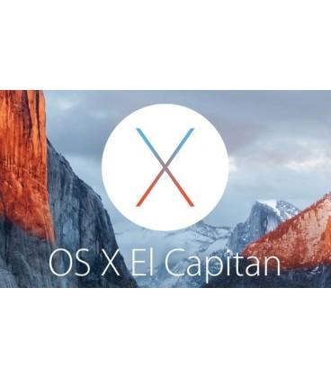 התקנת מערכת הפעלה למחשב נייד מקבוק MAC OS X EL CAPITAN MACBOOK PRO & AIR 13.3 15 INCH