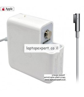 מטען מקורי למחשב נייד אפל Apple Macbook 60W MagSafe AC Power Adapter Charger A1330 A1334 A1184