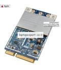 כרטיס רשת להחלפה במחשב נייד Apple Airport Wireless WiFi PCI-E Card 300M - A1181 , A1212 , A1226 , A1260 , A1229