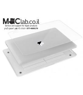 כיסוי קשיח להגנה על מחשב מקבוק שנת 2016 טאץ בר MacBook Pro 15 Case 2016, A1707 Touch Bar CLEAR CRYSTAL Hard Case