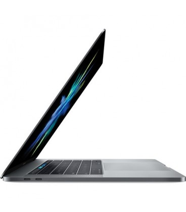 "מקבוק פרו Apple MacBook Pro 15"" Retina MPTU2LL/A 2.8GHz i7, 256GB, 16GB, Radeon Pro 555 2GB, Touch Bar - כסף - דור אחרון"