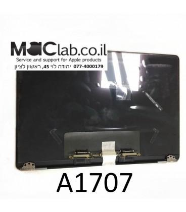 """קיט מסך להחלפה במקבוק החדש Macbook Pro Retina 15.4"""" A1707 Complete Assembly Grey Silver 2016 2017 Year"""
