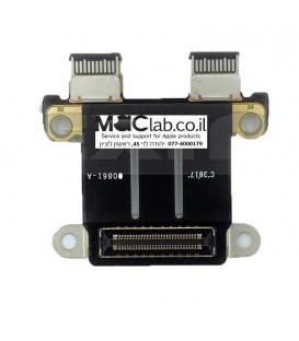 שקע טעינה להחלפה במקבוק טאץ בר Macbook PRO Retina A1706 A1707 A1708 DC-IN Power Jack Board 820-00484-02