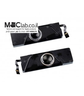 "רמקולים לאפל מקבוק Macbook Pro Retina 13"" A1706 Speaker Right+Left for (Late 2016 - Mid 2017)"