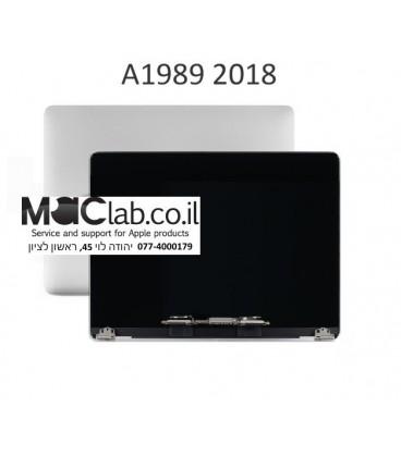 """קיט מסך להחלפה במקבוק החדש 2018 Macbook Pro Retina 13"""" A1989 Full LCD Display Screen Complete Assembly"""