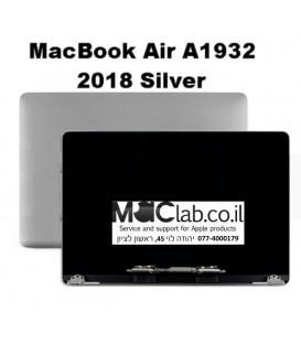 קיט מסך להחלפה מקבוק אייר החדש 2019 - Macbook 1932 Laptop full lcd assembly silver full lcd assembly
