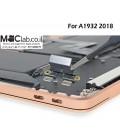 """שקע טעינה להחלפה במקבוק אייר רטינה החדש Macbook Air 13"""" A1932 Dc Jack Replacement"""