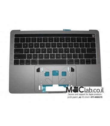 """תושבת עליונה כולל מקלדת למקבוק פרו MacBook Pro 13"""" Retina A1706 touch bar keyboard"""