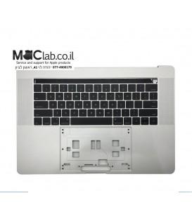 """תושבת עליונה כולל מקלדת למחשב מקבוק פרו Palm Rest for MacBook Pro 15"""" A1707 2016 Topcase with US Keyboard"""