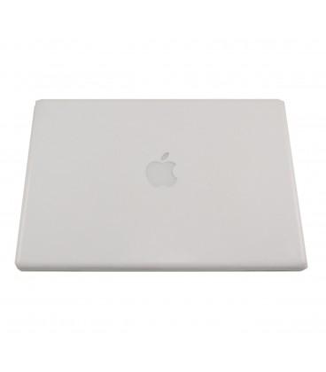 """החלפת גב פלסטיק אחורי למחשב נייד אפל White LCD Back Cover Lid fits MacBook 13"""" A1181 Back Cover - Years 2006 2007 2008 2009"""