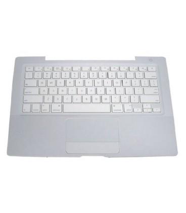 מקלדת כולל תושבת ומשטח עכבר למחשב נייד מקבוק Apple Keyboard with Top Case Assembly for Macbook A1181