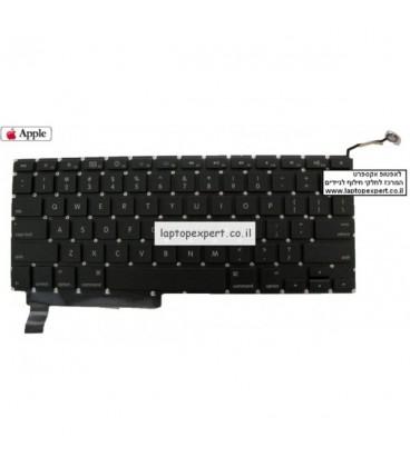 מקלדת למחשב נייד אפל מקבוק פרו  MacBook Pro A1286 keyboard unibody 15'' Mid 2009-2011