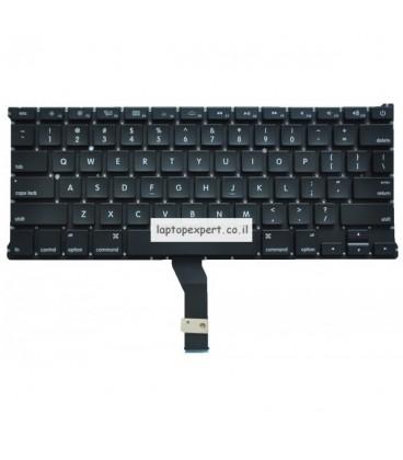 """מקלדת בנייד אפל מקבוק אייר Apple Macbook Air A1369 13"""" 2010 2011 Year Model US keyboard"""