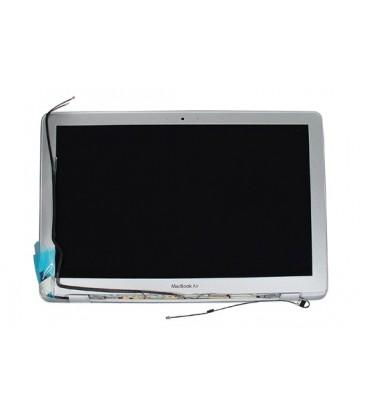 """קיט מסך משולם להחלפה במחשב נייד אפל מקבוק אייר כולל גב מסך ומסגרת וציריות  MacBook Air A1370 LED 11.6"""" MC968 MC969 (Mid 2011)"""