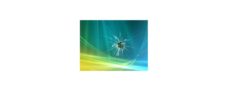 סוגי תקלות נפוצות במסכי מחשב נייד